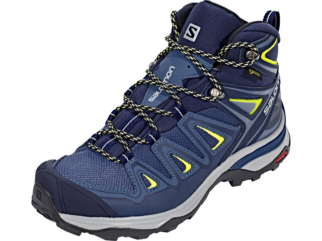 095d3863903 Salomon X Ultra 3 Mid GTX Schoenen Dames, crown blue/evening blue/sunny